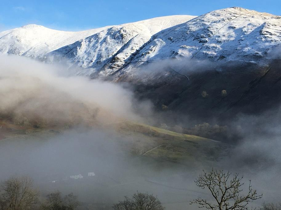 The Kentmere Fells and Troutbeck Valley